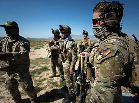 Dutch and German Special Forces support the Afghanistan